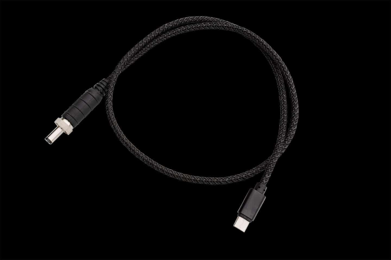 USB-C-Ladekabel mit wasserdichtem Stecker für die Notstrøm Powerbank